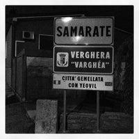 Photo taken at Samarate by Fabrizio F. on 10/3/2012