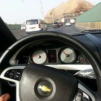 Photo taken at Qurum Darsait Bridge by VIP p. on 6/3/2013