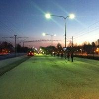 Photo taken at VR Oulunkylä by Christian L. on 2/25/2013