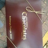 Photo taken at Paul Thomas Chocolates by Wendy H. on 11/23/2012