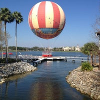 Photo taken at Disney Springs The Landing by Fevzi T. on 1/24/2013