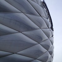 Photo taken at Allianz Arena by Fevzi T. on 1/28/2013
