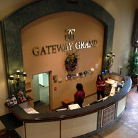Photo taken at Best Western Gateway Grand by Chip M. on 12/25/2012