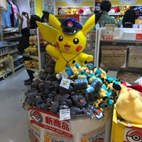 Photo taken at Pokemon Store by hooeyspewer .. on 7/4/2017