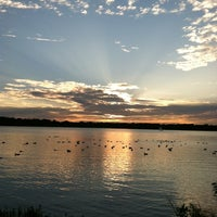 Photo taken at White Rock Lake by Gabriel on 9/30/2012