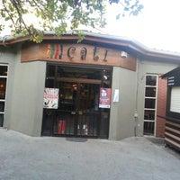 Photo taken at Çatı Cafe by Arzu D. on 11/6/2012