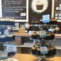 Photo taken at Flavor Cupcakery by Stephanie K. on 3/5/2017