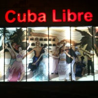 Photo taken at Cuba Libre by Anisa A. on 10/5/2012
