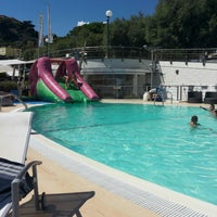 Photo taken at Celle Lido Beach Club by Silvia on 8/28/2013