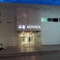 Photo taken at Estación Intermodal de Almería by Fernando P. on 5/8/2013