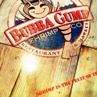 Photo taken at Bubba Gump Shrimp Co. by arnaz h. on 11/24/2012