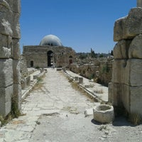 Photo taken at Amman Citadel by Majed M. on 6/6/2013