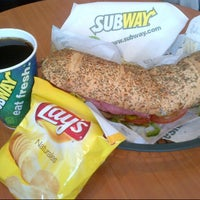 Photo taken at Subway by Agustin C. on 12/9/2012