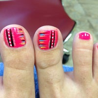 Photo taken at NOBLE NAILS by Julie M. on 7/23/2013