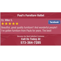 Photo taken at Pauls Furniture Outlet by Pauls Furniture Outlet on 2/4/2017