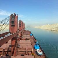 Photo taken at Suez Canal by Sarp G. on 11/19/2016