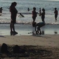 Photo taken at Playa Cavancha by Loiver F. on 1/23/2014