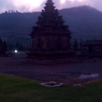 Photo taken at Kompleks Candi Arjuna by Falia on 11/23/2013