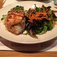 Photo taken at wagamama by Julia on 10/19/2013