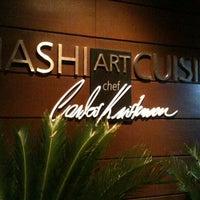 Foto tirada no(a) Hashi Art Cuisine por Carlos F. em 1/8/2013