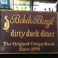 Photo taken at Bebek Bengil (Dirty Duck Diner) by Syuhada S. on 6/7/2013