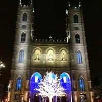 Photo taken at Notre-Dame Basilica of Montréal by Elliott 柳. on 1/2/2013