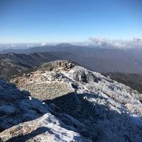 Photo taken at 천왕봉 (Chunwang Peak/天王峰) by Elliott 柳. on 2/25/2017