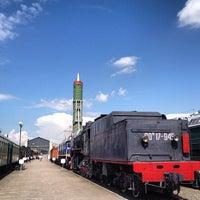 Снимок сделан в Центральный музей Октябрьской железной дороги пользователем Paul V. 6/8/2013