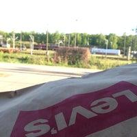 Photo taken at Bahnhof Elstal by Tim A. on 5/3/2014