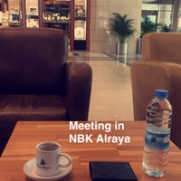 Photo taken at NBK • Al-Raya Tower by Faisel A. on 3/16/2017