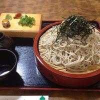 Photo taken at 麺坊 蕎麦博 by Hiroshi T. on 9/14/2013