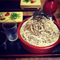 Photo taken at 麺坊 蕎麦博 by Hiroshi T. on 10/14/2012