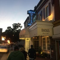Photo taken at Dock's Oyster House by Megan C. on 10/28/2016