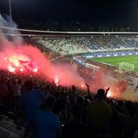 """Photo taken at Stadion """"Rajko Mitić"""" by Драгољуб С. on 9/29/2012"""