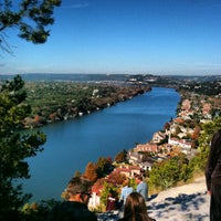 Photo taken at Covert Park at Mt. Bonnell by Bert A. on 9/17/2012