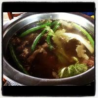 Photo taken at La Trobada Restaurant by Jean on 10/21/2012