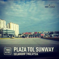 Photo taken at Plaza Tol Sunway (PJS) by Abu S. on 2/12/2013