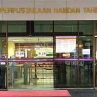 Photo taken at Perpustakaan Hamdan Tahir by Yasmin K. on 1/16/2017