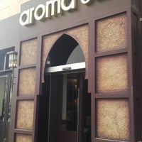 Photo taken at Aroma Café by Mohammed on 4/5/2013
