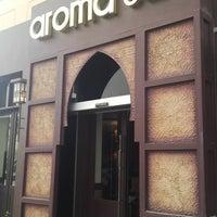 Photo taken at Aroma Café by Mohammed K. on 4/5/2013