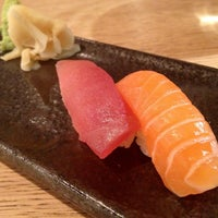Photo taken at Sushi Shop by ZenFoodster on 5/9/2013