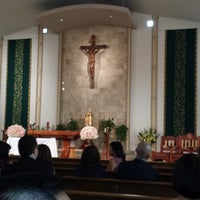 Photo taken at St. Justin Martyr Church by Michael M. on 2/8/2014