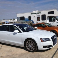 Photo taken at Audi Turn One Club, 12 Hours of Sebring by Bill C. on 3/17/2013