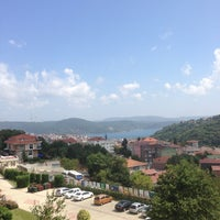 Photo taken at Sarıyer Evyap Koleji by Sinem on 8/22/2013
