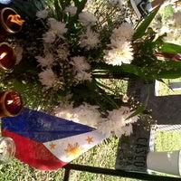 Photo taken at Libingan ng mga Bayani by Andre L. on 11/1/2012