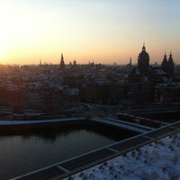 Photo taken at SkyLounge Amsterdam by Mathijs M. on 1/16/2013