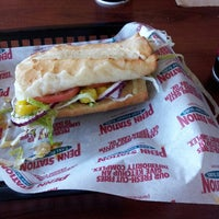 Photo taken at Penn Station East Coast Subs by Dennis F. on 3/16/2013