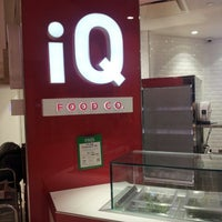 Photo taken at iQ Food Co. by Jasper I. on 7/19/2013