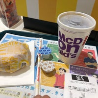 Photo taken at McDonald's by そよかぜ チ. on 4/13/2018