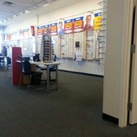 Photo taken at America's Best Contacts & Eyeglasses by Sara N. on 1/5/2013